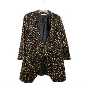Calvin Klein animal print jacket size 10
